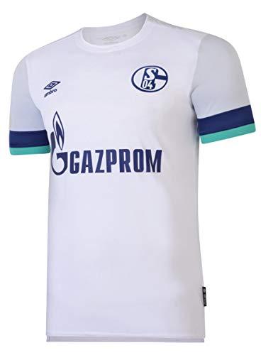 UMBRO FC Schalke 04 Trikot Away 2019/2020 Herren weiß/blau, XXL