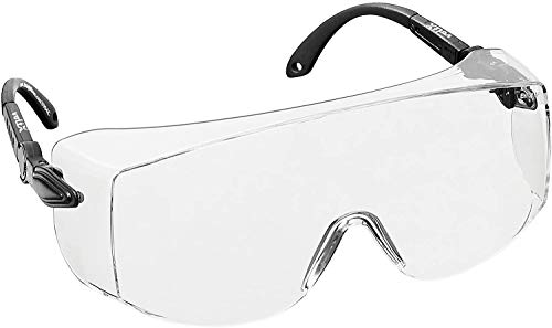 voltX 'OVERSPECS' Gewerbliche Schutzbrille für Brillenträger im Industriewesen - CE EN166f zertifiziert...