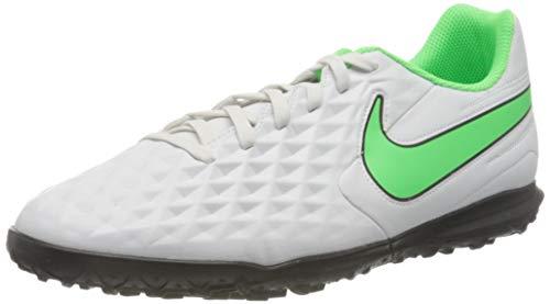 Nike Herren AT6109-030_42,5 Turf Football Trainers, Platinum Tint Rage Green Black, 42.5 EU