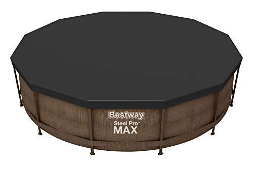 Bestway 58037 Abdeckplane für Frame Pool, Durchmesser 366 cm