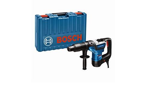 Bosch Professional Bohrhammer GBH 5-40 D (SDS Plus, inkl. Zusatzhandgriff, Fetttube, Maschinentuch, im Koffer)