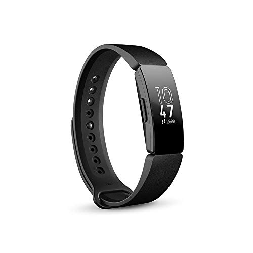 Fitbit Inspire Gesundheits- & Fitness Tracker mit automatischer Trainings Erkennung, 5 Tage Akkulaufzeit,...