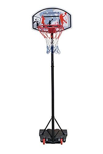 Hudora Unisex-Youth Basketballständer All Stars Basketball-Ständer, höhenverstellbar-Basketball-Korb-71655,...
