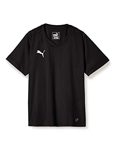 PUMA Kinder Liga Core Jersey, Black White, 152