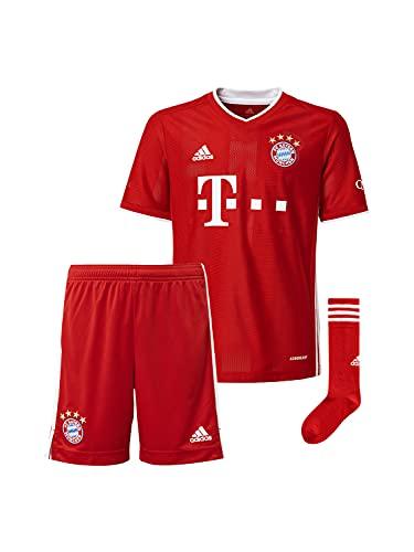 FC Bayern München Home-Trikot Saison 2020/21 Mini Kit, Gr. 104, ohne Flock
