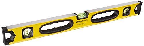 Amazon Basics Magnetische Wasserwaage, Aluminiumlegierung, 60,9 cm