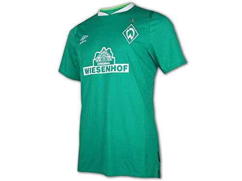 UMBRO SV Werder Bremen Trikot Home 2019/2020 Kinder grün/weiß, M