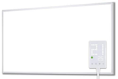 Heidenfeld Infrarotheizung HF-HP100 1000 Watt Weiß - inkl. Thermostat - 10 Jahre Garantie - Deutsche...