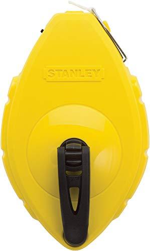 Stanley Schlagschnur, ABS-Kunststoff (Schiebefach, Edelstahl Endhaken, für 30 m Schnur) 0-47-440