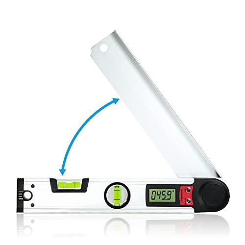 Winkelmesser Digitale, Orthland Winkelmesser Elektronisch 0-230 ° Digitale Wasserwaage mit LCD-Anzeige,...
