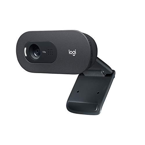 Logitech C505 HD Webcam - 720p externe USB Kamera für den Computer-Bildschirm mit Langstreckenmikrofon -...