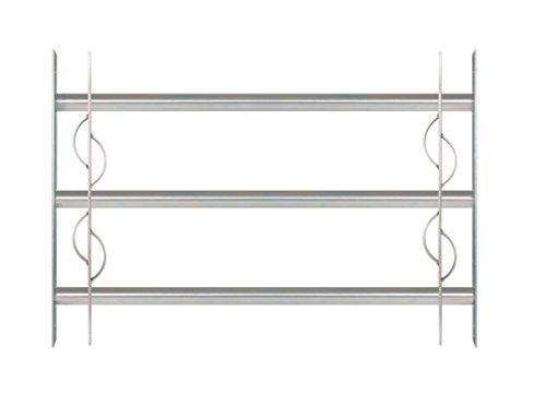 GAH-Alberts 563622 Fenstergitter Secorino Style   Ausziehbar für Fenster außen   Einbruchschutz Gitter  ...