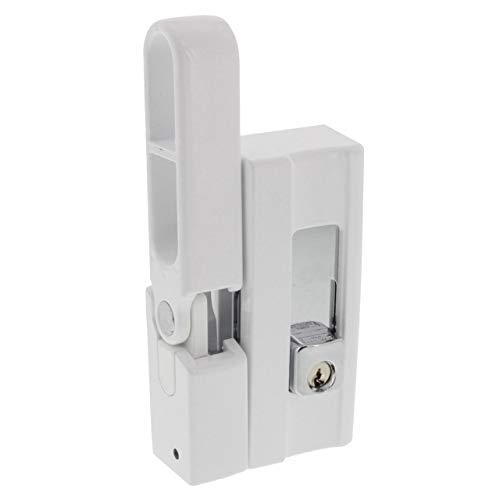 BURG-WÄCHTER Fenstersicherung, Einbruchschutz für Fenster und Balkontüren, Abschließbar,...