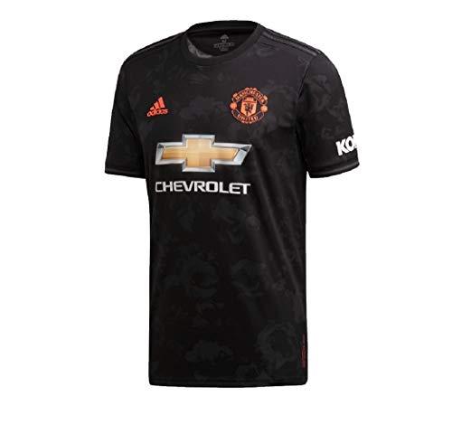 Adidas Manchester United 3rd Trikot Ausweichtrikot (L, Black)