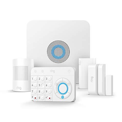 Ring Alarm 5-teiliges Set (1. Generation) von Amazon – Alarmanlage mit optionaler unterstützter...