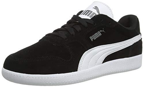 PUMA Unisex-Erwachsene Icra Trainer SD Sneaker, Schwarz (black-white), 38.5 EU