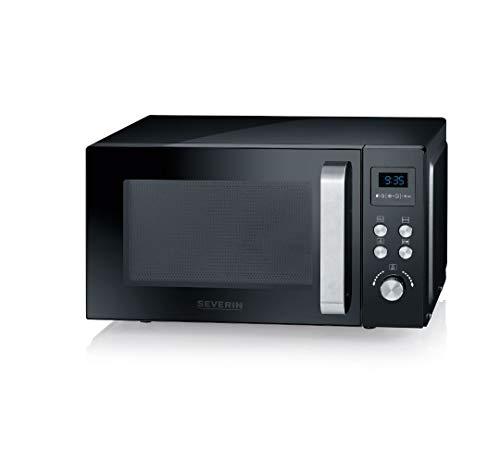 SEVERIN 3-in-1 Mikrowelle mit Grill und Heißluftfunktion bis zu 200 °C, Minibackofen inklusive...