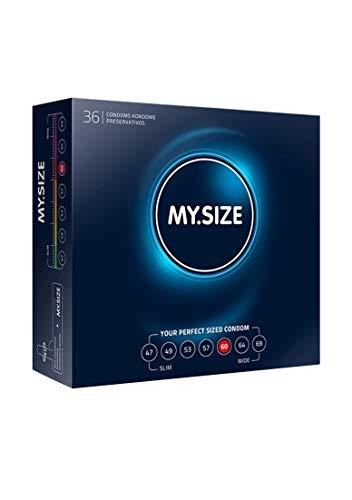 My.Size Kondome Größe 5, 60 mm, Großpackung, Inhalt 36 Stück