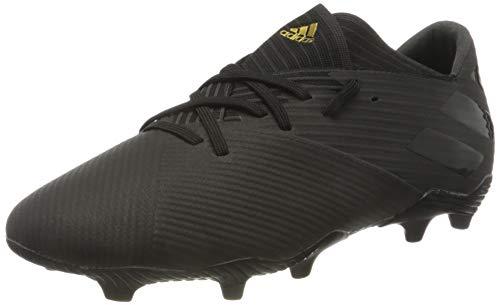 adidas Unisex Nemeziz 19.2 Fg Sneaker, Schwarz Black Black White, Large EU