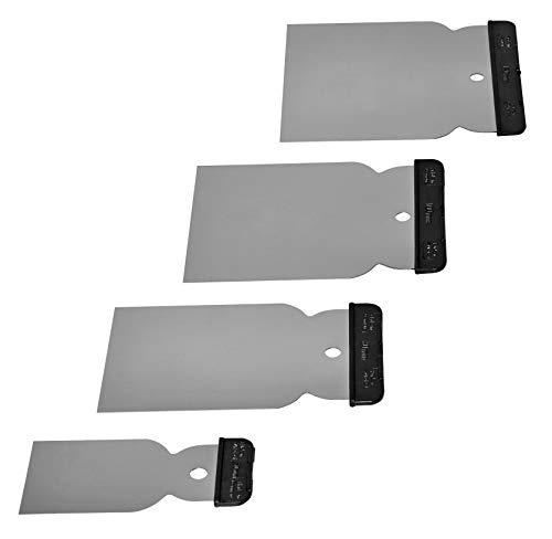 maurerfreund | Japanspachtel | Set 4-teilig | 50, 80, 105, 120mm Japanspachtel | hochwertiger Edelstahl |...