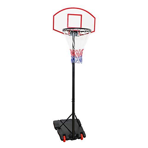 Display4top Einstellbare Portable tragbar Basketballkorb und Ständer System (179 - 209 cm)
