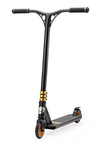 STAR SCOOTER Pro Sport Freestyle Stunt Scooter Kickscooter Roller für Kinder ab 7 Jahre und Erwachsene 110mm...