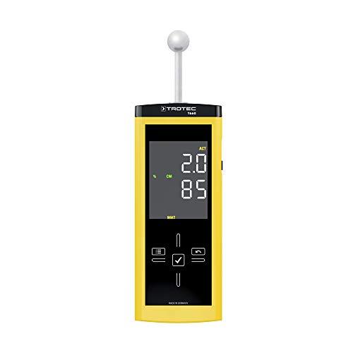 TROTEC T660 Feuchtemessgerät Dielektrisch Mikrowelle Feuchtemessung bis zu einer Tiefe von 40mm