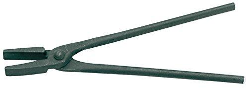 GEDORE Schmiedezange mit flachem Maul, 500 mm, Stahl, Schwarz