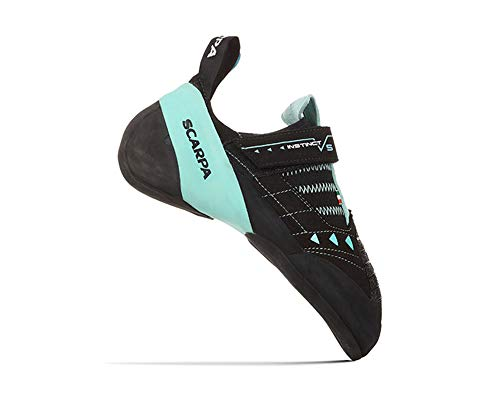 Scarpa Instinct VS Kletterschuhe Damen Black/Aqua Schuhgröße EU 38,5 2020 Boulderschuhe