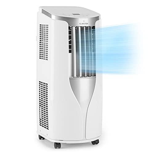 Klarstein New Breeze 7 - mobile Klimaanlage, 3-in-1: Kühlung, Entfeuchtung & Ventilation, 7.000 BTU / 2,1 kW,...