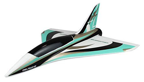 Amewi 24106 AMXFlight Delta Wing Jet, RC Flugzeug, ferngesteuert, EPO, PNP, mintgrün-weiß