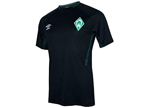 UMBRO Werder Bremen Kinder Training Jersey SVW Fußball Shirt Junior Bundesliga, Größe:152