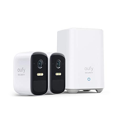 eufy Security eufyCam 2C Pro, Kabellose Überwachungskamera, Sicherheitssystem 180 Tage Akkuleistung, HomeKit...
