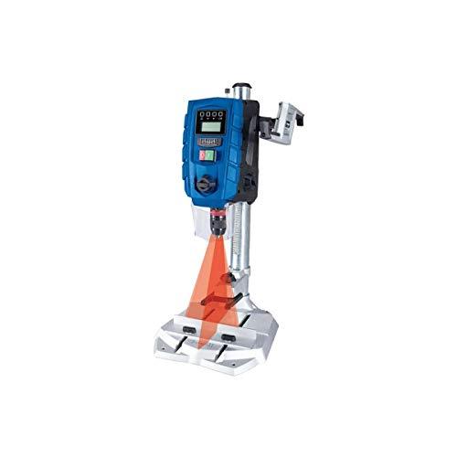 SCHEPPACH DP60 Tischbohrmaschine Bohrmaschine 13 mm LED Laser | 710 W | Drehzahl: 170 – 880 / 490 – 2600...