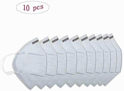 BTJC88 50pack Gesichtsschutz Gesichtsschutz Sch/ützen Sie die Nase Mundschutz