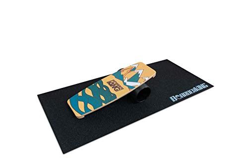 BoarderKING Indoorboard Limited Edition Skateboard Surfboard Trickboard Balanceboard Balance Board (Berge, 140...