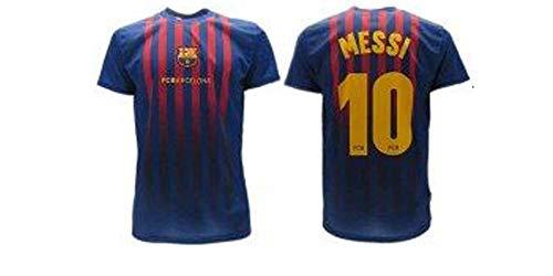 Barcelona Lionel Messi 10 Fußballtrikot, zugelassene Replica 2018-2019, für Kinder (2, 4, 6, 8, 10, 12, 14...