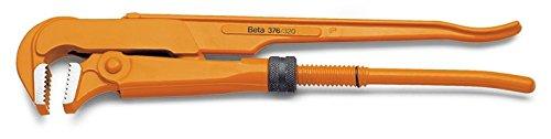 Beta 376 630 - Rohrzangen, schwedisches Modell, Backen 90° gebogen