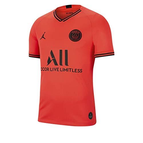Nike Kinder PSG Breathe Stadium Auswärt Trikot Teamtrikot, Infrared 23/Black, M