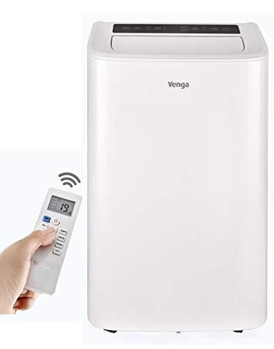 Venga! Tragbare Klimaanlage, 12000 BTU, mit Kühl-, Lüfter- und Entfeuchtungsmodus, Schlaf- und...