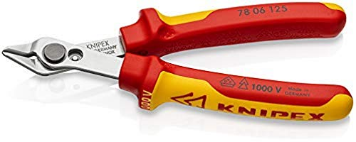 KNIPEX Electronic Super Knips VDE 1000V-isoliert (125 mm) 78 06 125