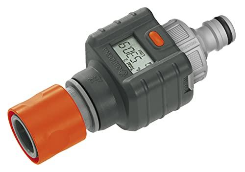 Gardena Wassermengenzähler: Praktischer Wasserzähler zur Anbringung am Wasserhahn oder Verbrauchsgerät, zur...