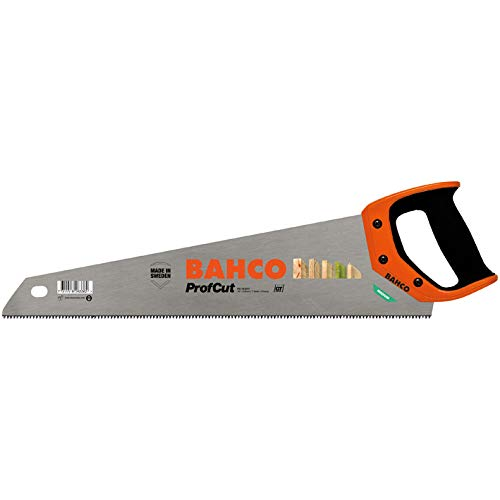 Bahco PC-19-GT7 BHPC-19-GT7-A Handsäge mittelgrob mit 2K Handgriff Blattlänge 475 mm, Profcut...
