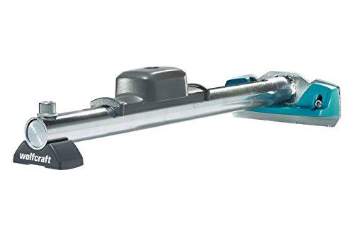 wolfcraft Hammer-Zugeisen 6945000 – Werkzeug zum Verlegen von Laminat und Parkett – 3-in-1-Funktion –...