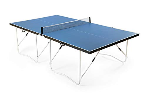 VanTen 9 Fuß PingPong-Classics Klappbare Tischtennisplatte Einfache Montage-blau