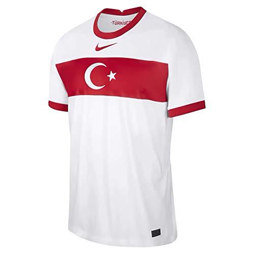 Nike Turkey 2020 Stadium Home Teamtrikot White/Sport Red/Sport Red XL