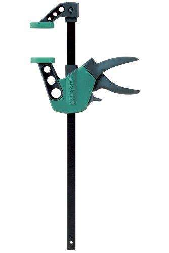 wolfcraft Einhandzwinge Easy 75-500 mm 3023000 | Einfaches Spannen und Lösen der Zwinge mit nur einer Hand -...