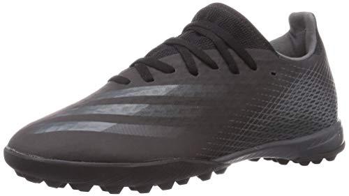 adidas Mens X GHOSTED.3 TF Soccer Shoe, CBLACK/GRESIX/CBLACK,44 2/3 EU
