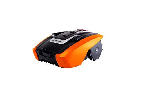 YARD FORCE Mähroboter AMIRO 350i bis zu 350 qm - Selbstfahrender Rasenmäher Roboter mit WLAN-Verbindung,...