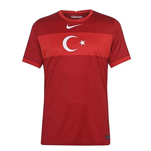 NIKE Herren Turkey 2020 Stadion Away T-Shirt, Herren, rot, XXL